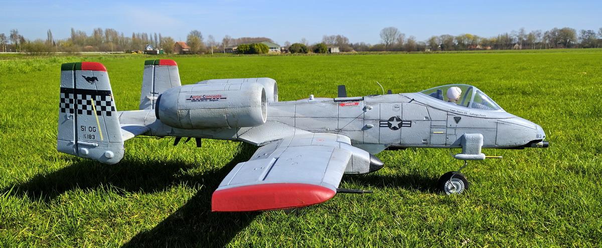 A-10 Warthog - detail