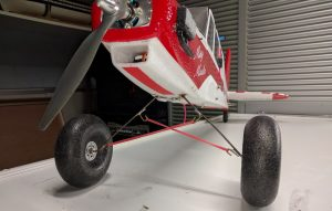 Fun Cub Landing Gear - detail