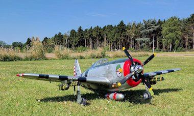 P-47D Razorback - post front