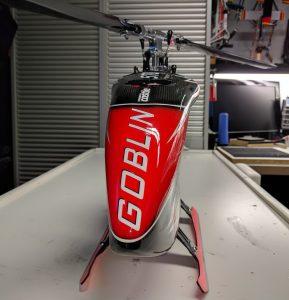 SAB Goblin 570 - detail