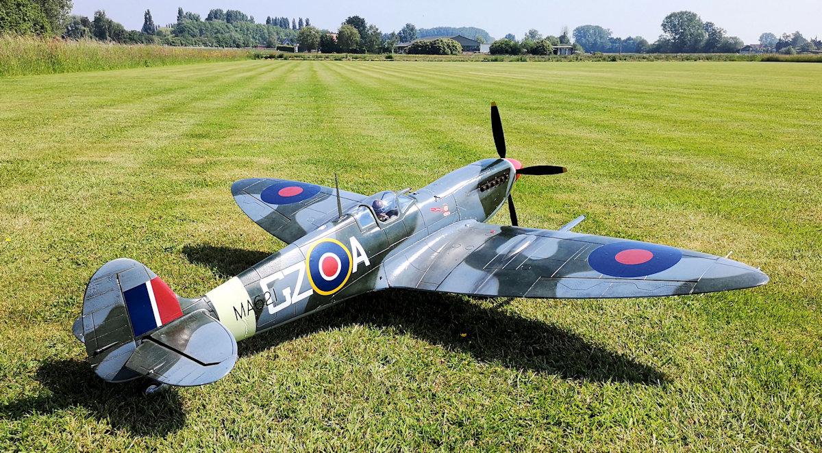 Spitfire Mk IX back - detail