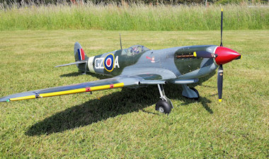 Spitfire Mk IX side - post