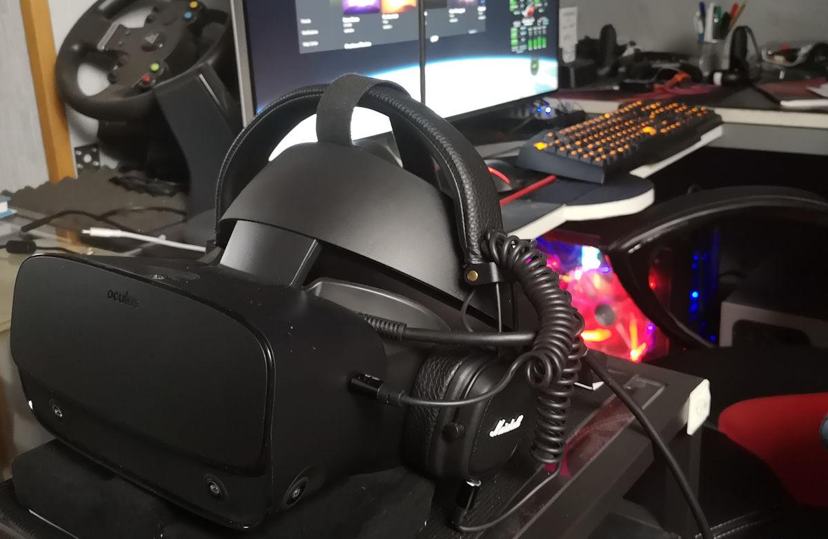 Oculus Rift S - detail